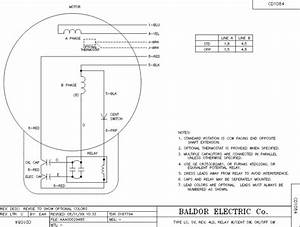Baldor Single Phase 230v Motor Wiring Diagram Sample