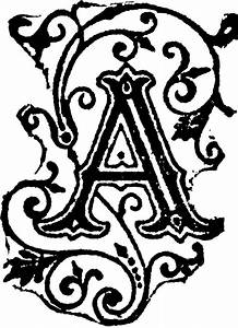 fancy letter a designs clipart best tattoo pinterest With fancy initial letters