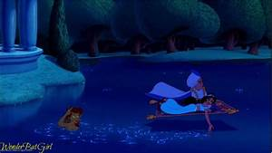 Disney crossover images aladdin and jasmineand ariel hd for Aladdin and jasmine on carpet wallpaper