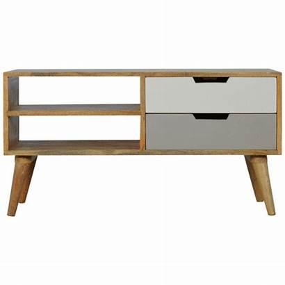 Drawers Unit Furniture Nordic Tv Artisan Grey
