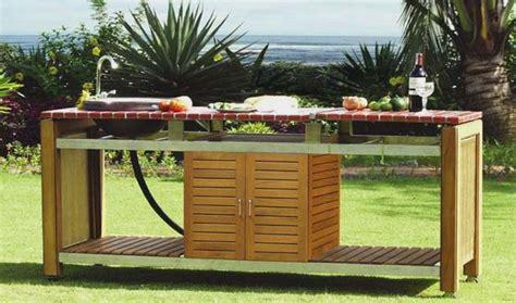 photo cuisine exterieure jardin cuisines d 39 extérieur et barbecues design et haut de gamme