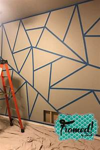 How, To, Diy, Color, Block, Wall