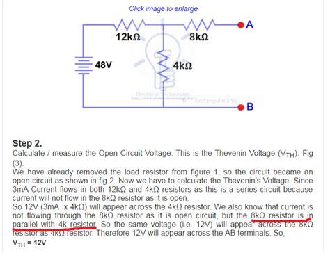 Determining Parallel Resistances Solution Circuit