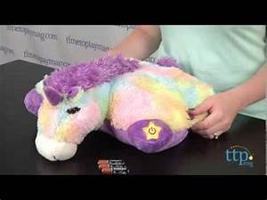 Glow Pets Sparkling Unicorn from CJ Products - YouTube