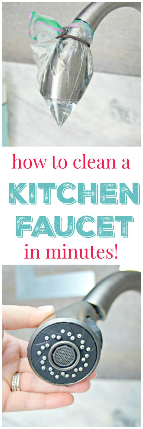 how to clean kitchen faucet how to clean kitchen faucet 28 images homemaking