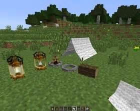 Minecraft Camping Mod 1.7.10