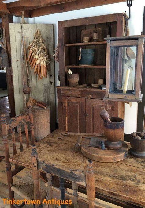 Tinkertown Antiques Home Primitive Colonial Style
