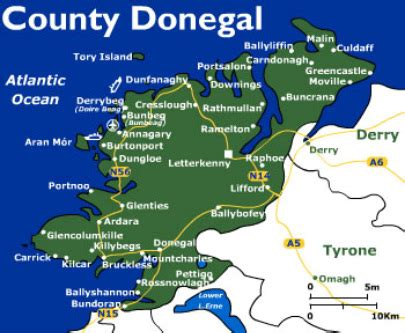 county donegal map haroldandmelbaknox