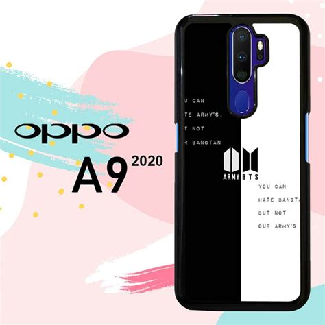 Jual Casing OPPO A9 2020 Custom Hardcase HP Army Bts ...