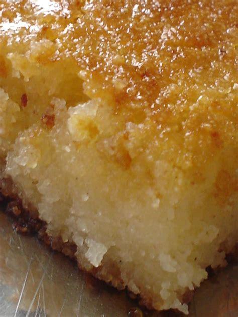 cuisine de basma basboussa vanillee au yaourt egypte coconut