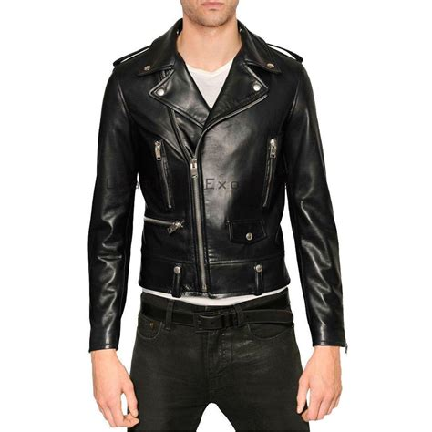 motorcycle jackets for men stunning men leather moto jacket buy leather stunning