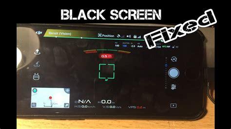 dji mavic pro black screen  image repair youtube
