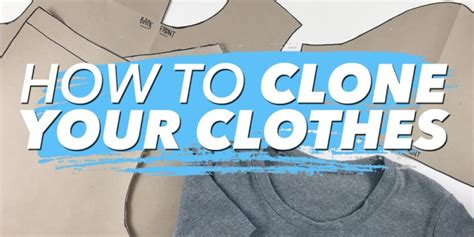 clone  wardrobe   patterns