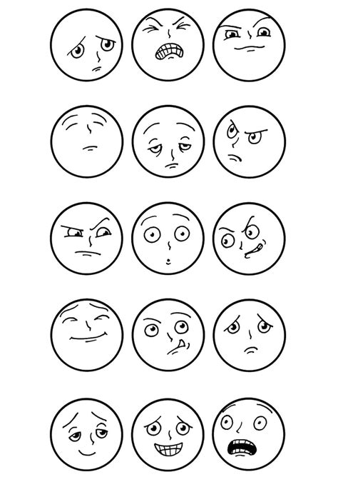 top 20 free printable emotions coloring pages 456 | f113c02132f3009de0a5899e0aef9d0c
