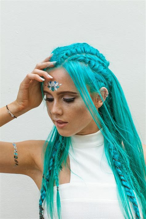 aqua hair color best 25 turquoise hair ideas only on mint