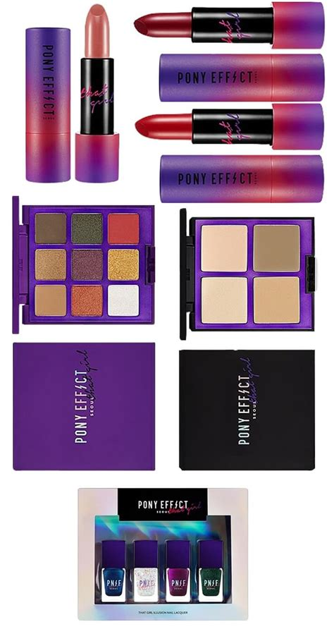 pony effect makeup collection memebox holiday