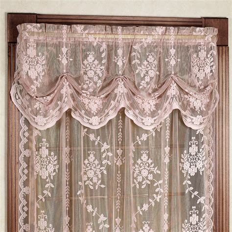 Lace Curtains by Curtain Enchanting Lace Curtain For Adorable Home