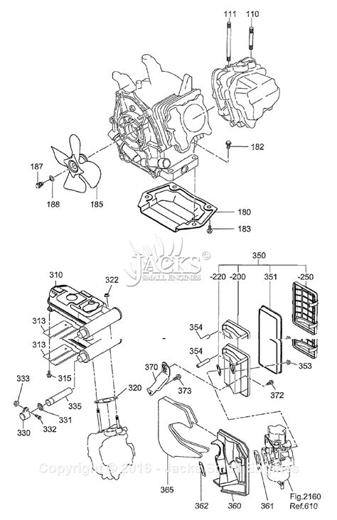 robin subaru rg3200is parts diagram for engine