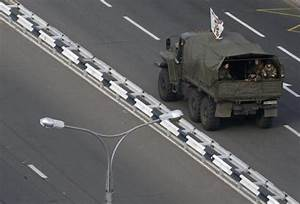 Russian Troops, Tanks Photographed Entering Ukraine as ...