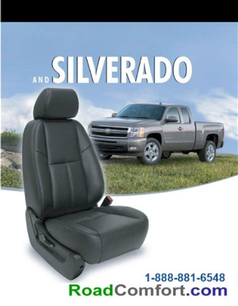 2012 Chevy Silverado Factory Leather Seat Cover & Custom
