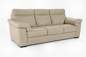 Natuzzi Editions B757 B757 064 Sofa ONLY STOCKED IN BEIGE