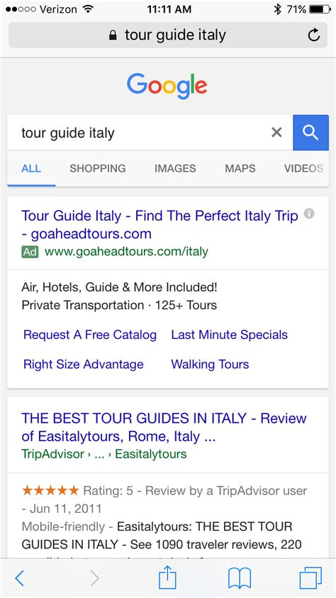 """Official Google Is Rolling Out Green """"ad"""" Label Globally"""