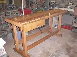 Construire Un établi En Bois : fabrication d 39 un tabli de menuisier avec ces presses ~ Premium-room.com Idées de Décoration