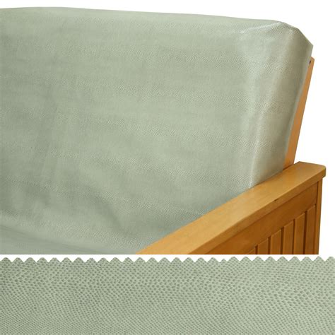 leather futon cover faux leather gator click clack futon cover buy from