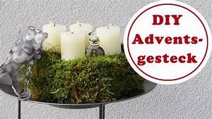 utes adventsgesteck aus moos aus dem garten diy With französischer balkon mit garten moos