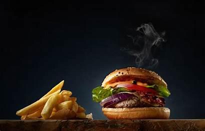 Burger Fries French Wallpapers Cheeseburger Hamburger Background