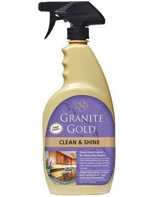 granite gold clean shine
