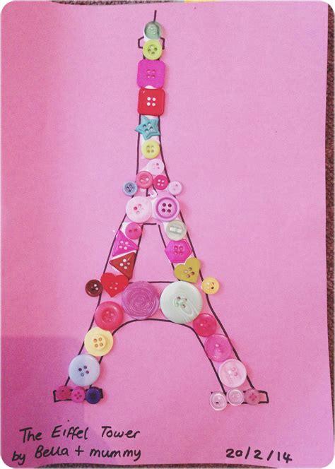 button crafts with eiffel tower camp ideas 261 | 5a410b69c53fa30b02bde899573357f0