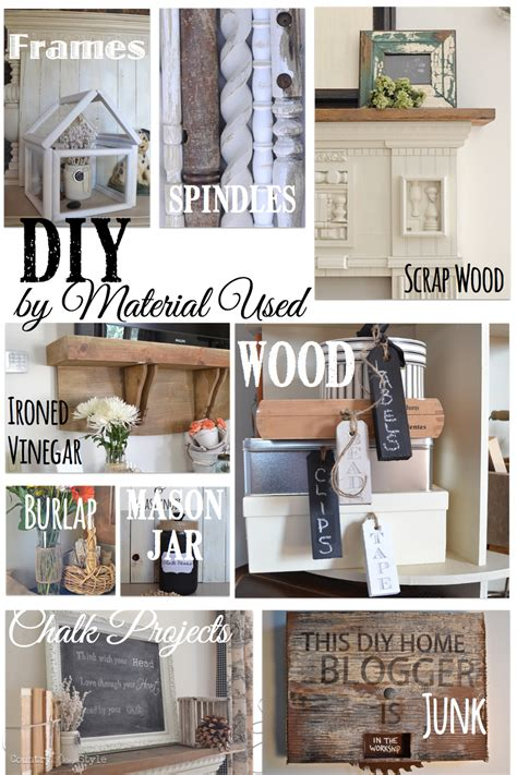 diy  material country design style