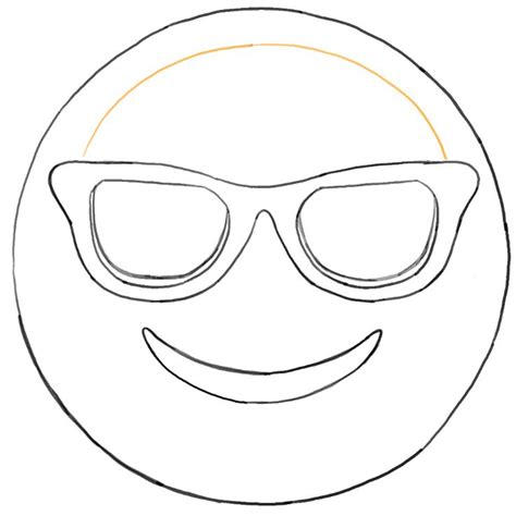 free emoji templates sunglass emoji faces coloring pages sketch coloring page ideas coloring