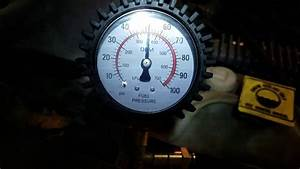 2000 Jeep Grand Cherokee Fuel Pressure After New Fuel