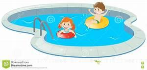 Swimmingpool Für Kinder : zwei kinder im swimmingpool stock abbildung illustration ~ A.2002-acura-tl-radio.info Haus und Dekorationen