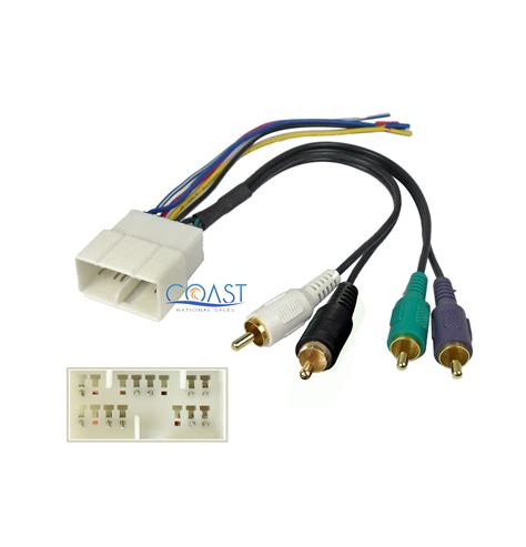 Car Stereo Radio Amplifier Wiring Harness For Select