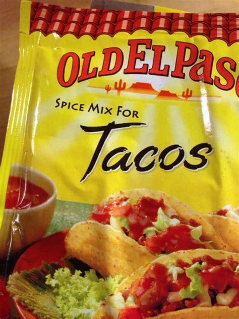 Old El Paso Taco Spice Mix Olio