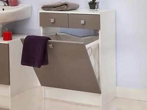meuble salle de bain design meuble vasque colonne armoire With salle de bain design avec meuble rangement salle de bain castorama