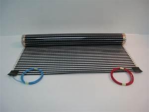 Plancher Chauffant Electrique : plancher chauffant lectrique ecofilm set 130w m ~ Melissatoandfro.com Idées de Décoration