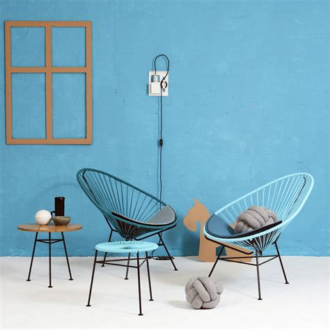 coussin de chaise patio the ok design acapulco chair in the shop