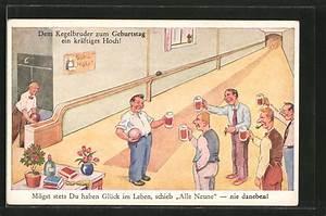 Geburtstag Männer Bilder : ak dem kegelbruder zum geburtstag m nner mit bier 6986852 alte ansichtskarten postkarten ~ Frokenaadalensverden.com Haus und Dekorationen