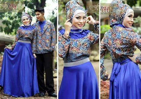 contoh model baju muslim couple populer