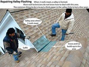 Roof Valley Flashing  U2013 Common Problem That Causes Leaks