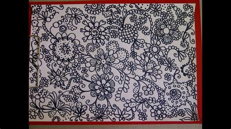 mandala zeichnen zentangle zeichnung simple doodle
