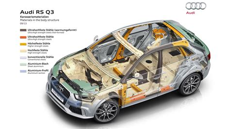 2014 Audi Rs Q3 Body Structure