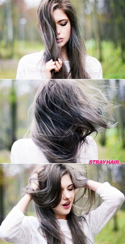hair color styles gorgeous gunmetal gray hair strayhair 3595