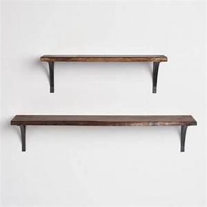 3 ft Organic Edge Wood Mix & Match Wall Shelf World Market