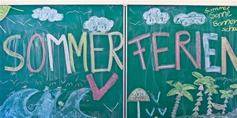 ferienende wann enden die sommerferien