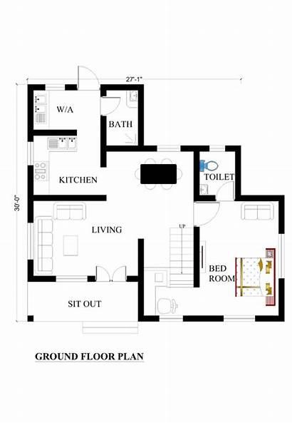 Plans Plan 27x30 Map Floor Ground Dream